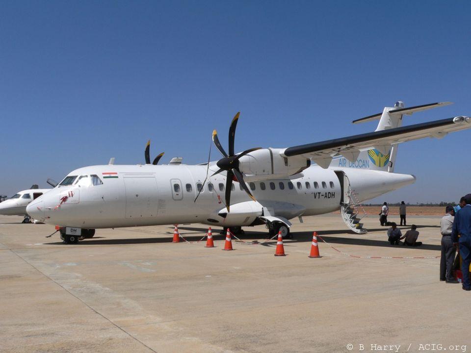 Turbopropulseur : Beaucoup dappareils civils en sont équipés : ATR 42 et 72. Lockheed C-130 Hercules.