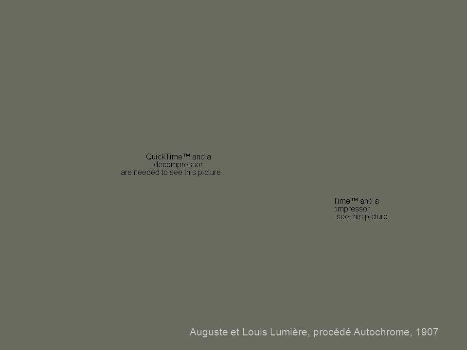 Auguste et Louis Lumière, procédé Autochrome, 1907