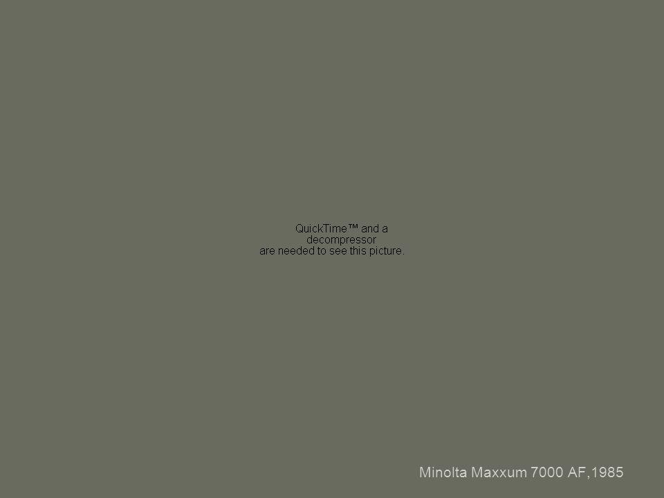 Minolta Maxxum 7000 AF,1985