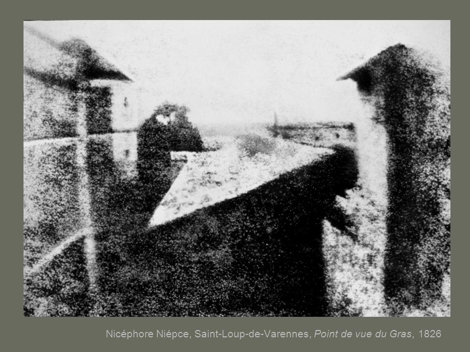Nicéphore Niépce, Saint-Loup-de-Varennes, Point de vue du Gras, 1826