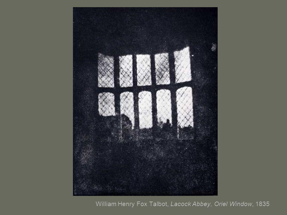 William Henry Fox Talbot, Lacock Abbey, Oriel Window, 1835