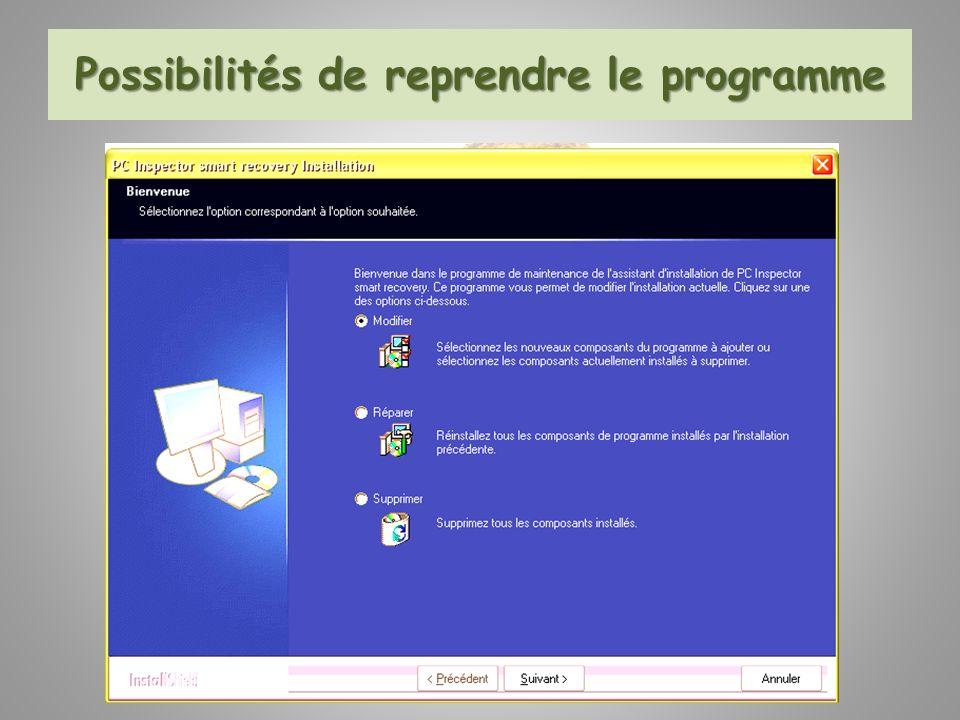 Voici la procédure proposée pour débloquer sous Vista certains programmes.