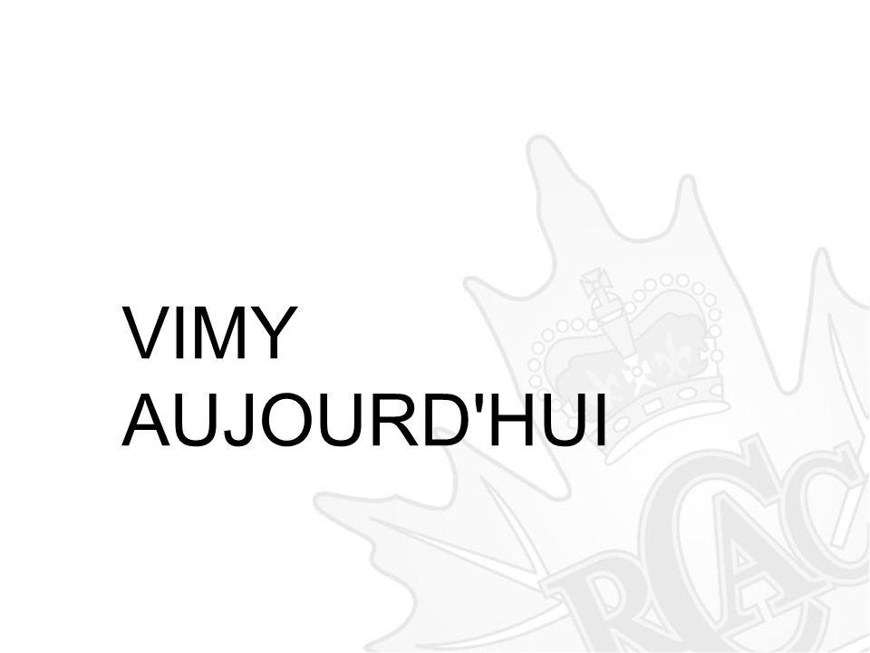 VIMY AUJOURD'HUI