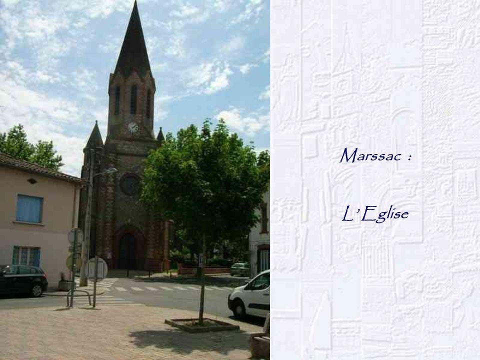 Marssac : L Eglise