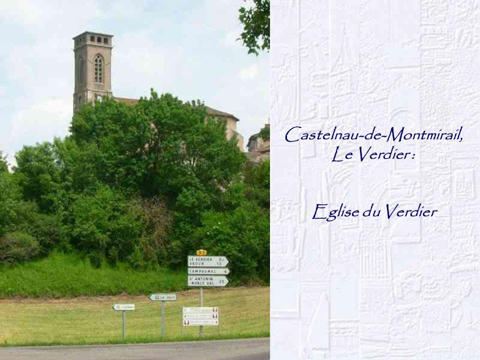 Castelnau-de-Montmirail, Le Verdier : Eglise du Verdier