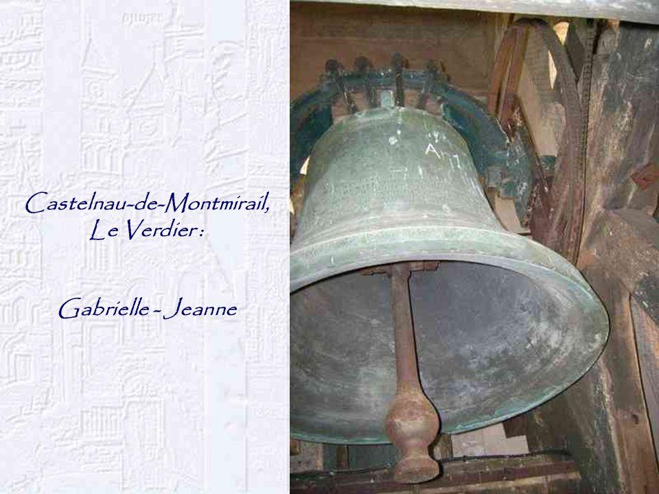 Castelnau-de-Montmirail, Le Verdier : Gabrielle - Jeanne