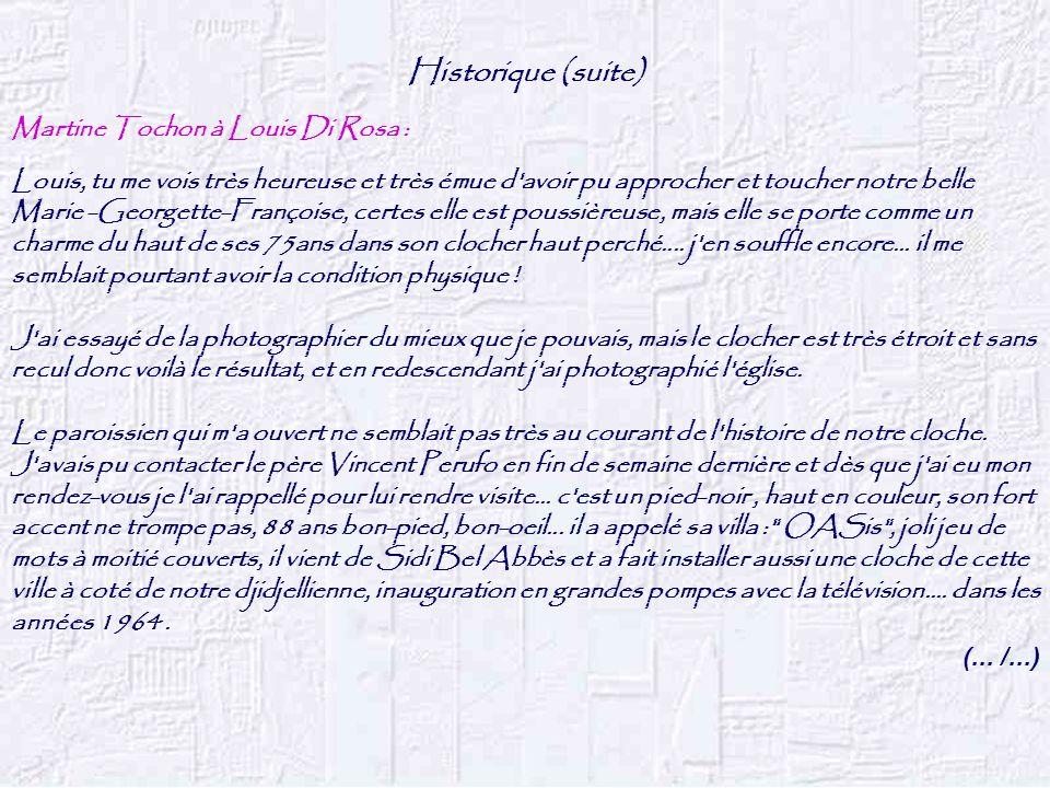 Historique (suite) (...