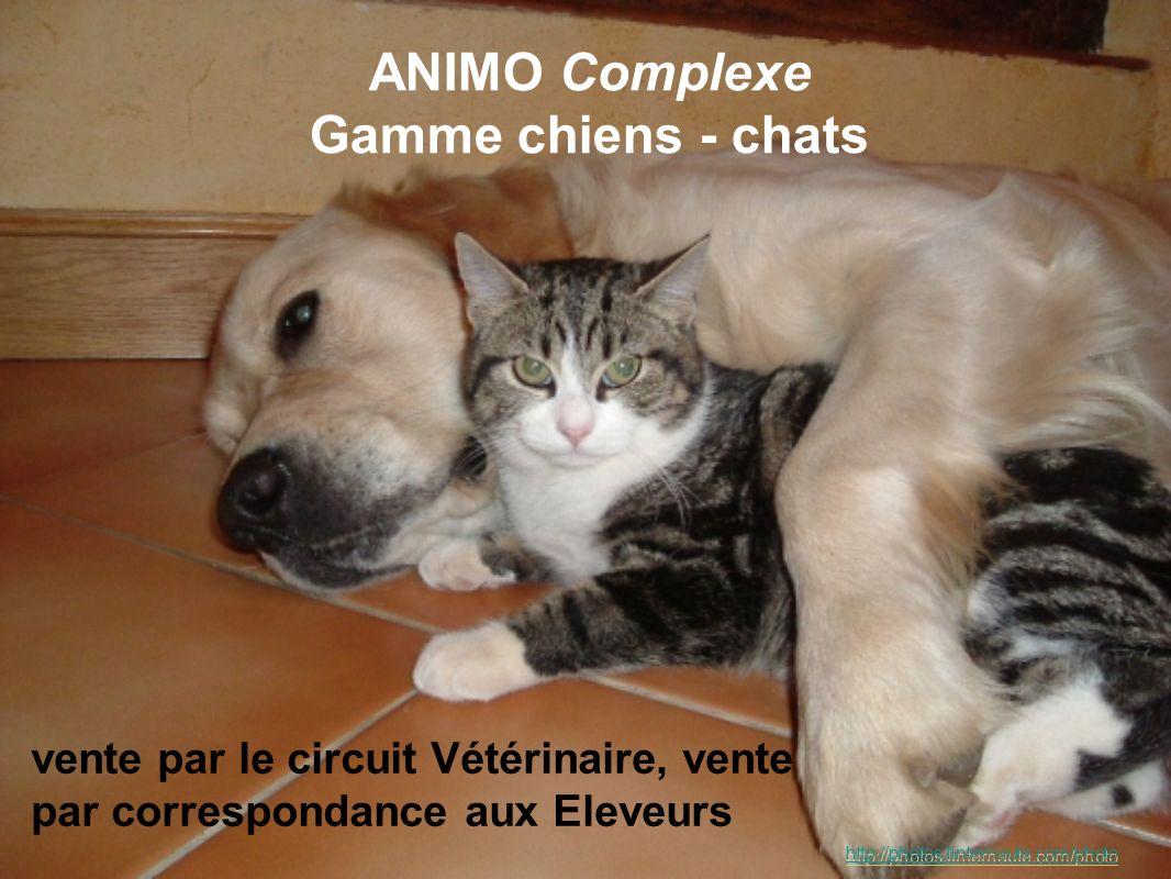 ANIMO Complexe Gamme chiens - chats vente par le circuit Vétérinaire, vente par correspondance aux Eleveurs http://photos.linternaute.com/photo
