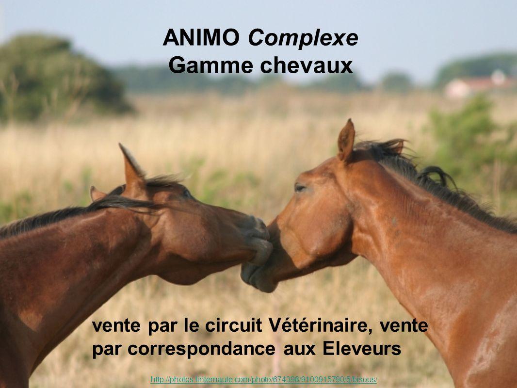 ANIMO Complexe Gamme chevaux http://photos.linternaute.com/photo/674398/9100915790/5/bisous/ vente par le circuit Vétérinaire, vente par correspondance aux Eleveurs