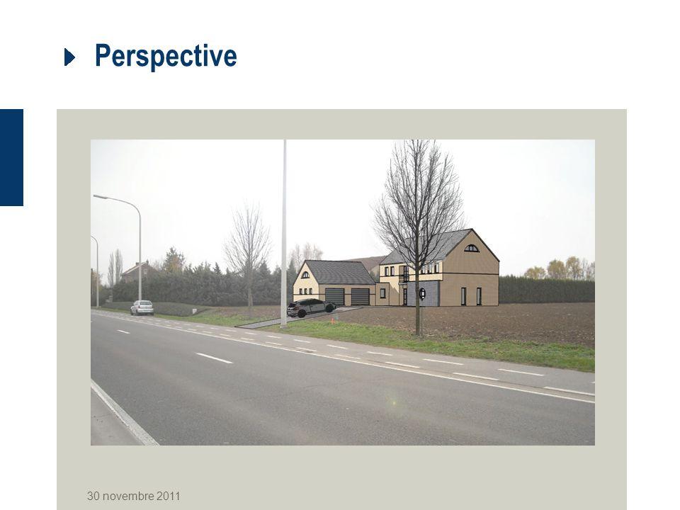 Perspective 30 novembre 2011