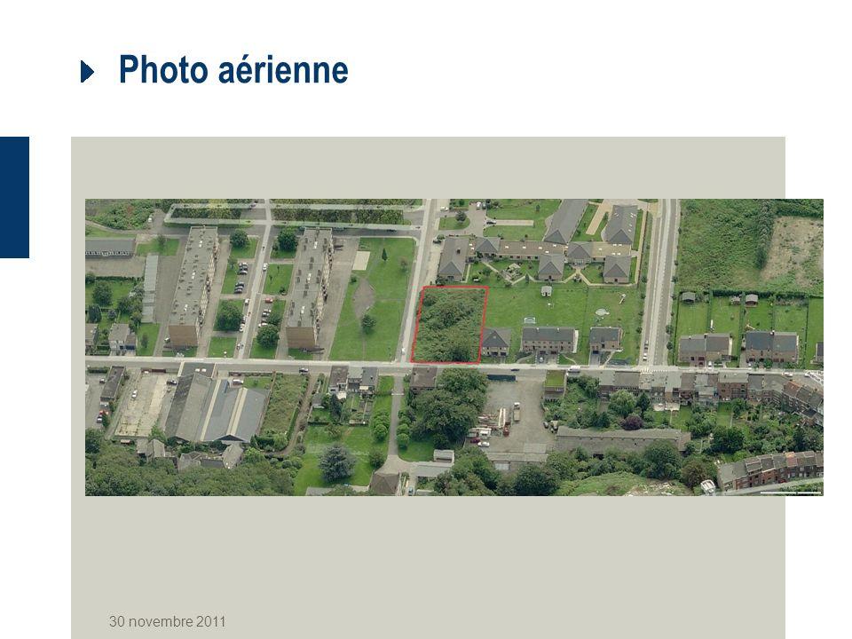 Photo aérienne 30 novembre 2011