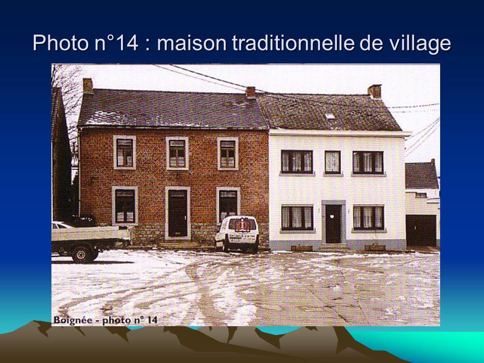 Photo n°14 : maison traditionnelle de village