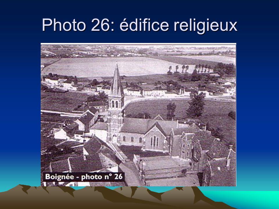 Photo 26: édifice religieux