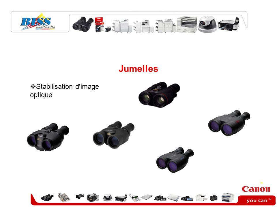 Jumelles Stabilisation d'image optique