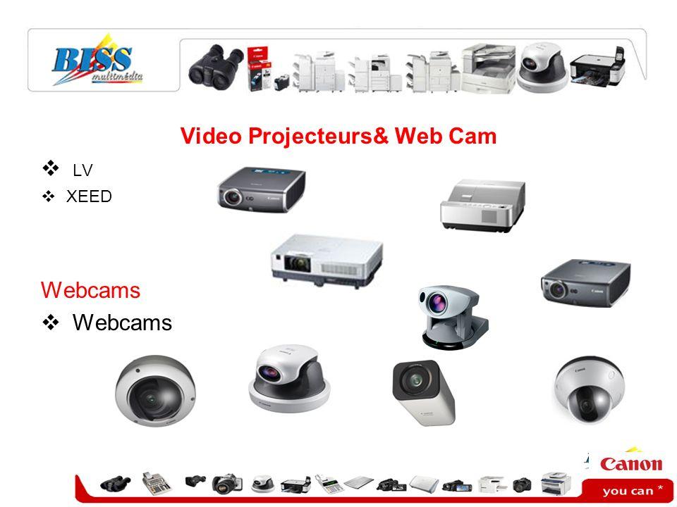 Video Projecteurs& Web Cam LV XEED Webcams