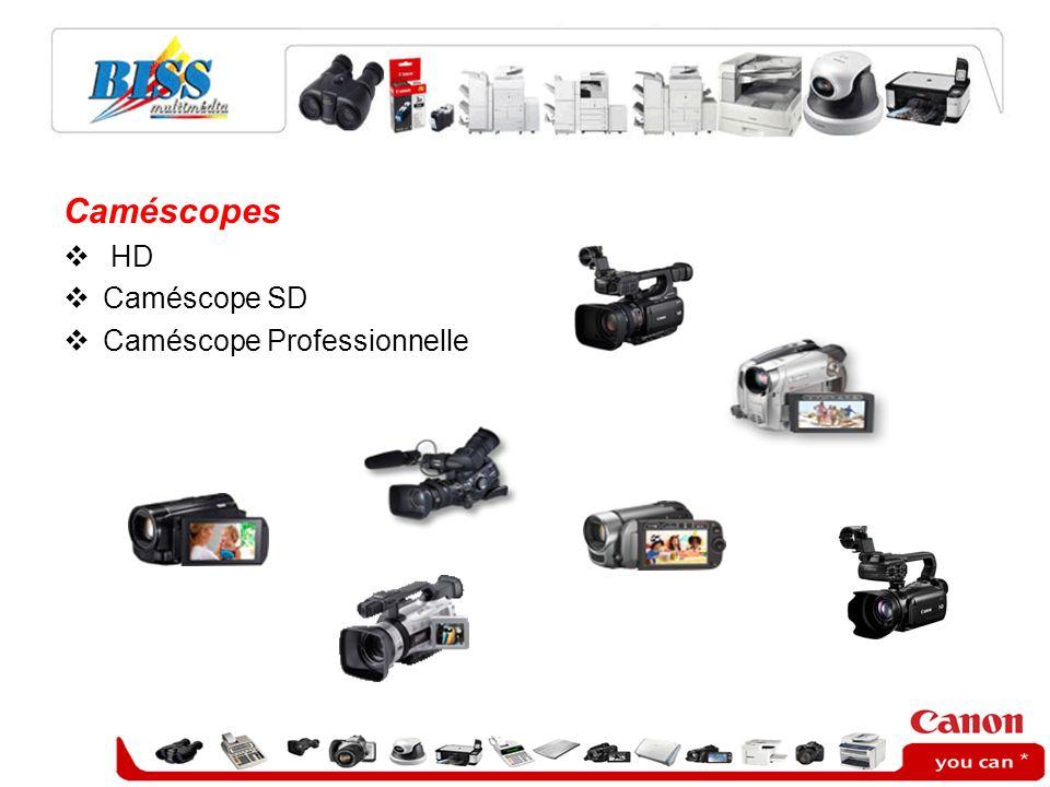 Caméscopes HD Caméscope SD Caméscope Professionnelle