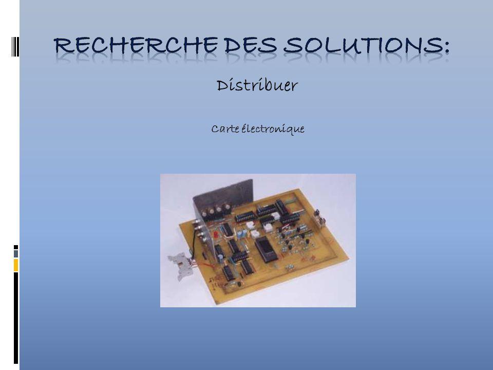 Distribuer Carte électronique