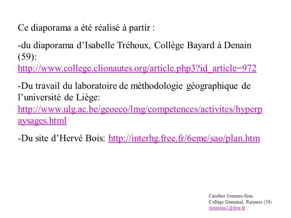 Et maintenant, entraîne-toi Clique sur ce lien pour continuer la leçon: http://interhg.free.fr/6eme/sao/plan.htm Réponds aux questions et complète les