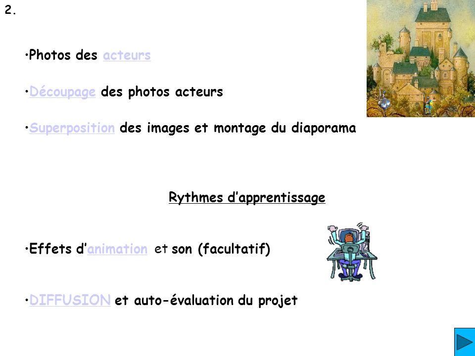 Personnaliser lanimation des diapositives.
