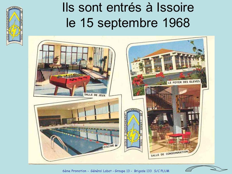 6ème Promotion - Général Labat - Groupe 13 - Brigade 133 S/C PLUM Épris de loisirs sportifs Sortie canoë-Kayak Clic .