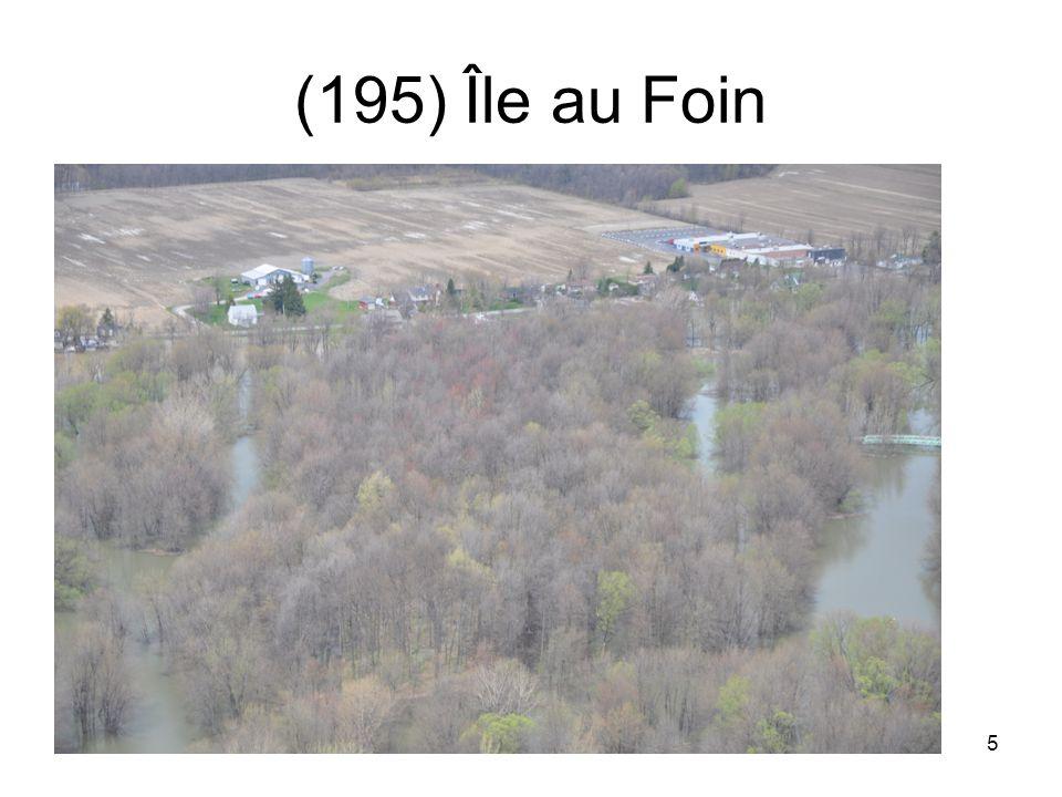 16 (209) Pas large la bande de terre sans eau gauche frayère et droite canal des Amaranthes