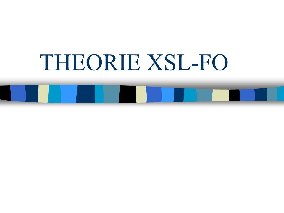 THEORIE XSL-FO