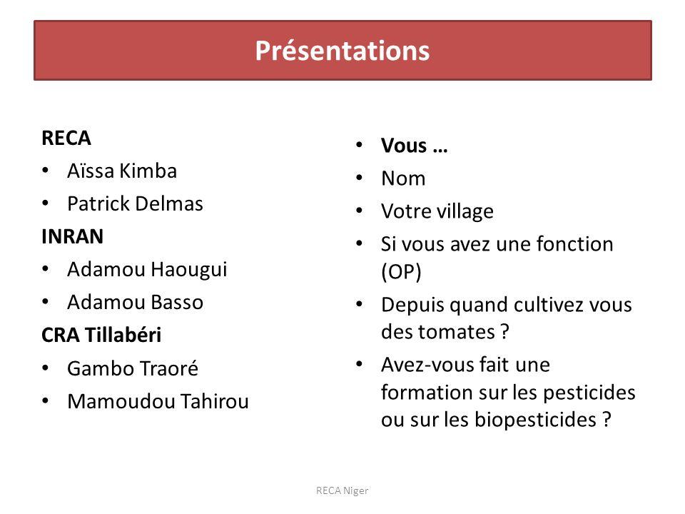 Tuta : Ouallam début 2013, 1 ère attaque sur feuille octobre 2013 à Bourboukabé RECA Niger