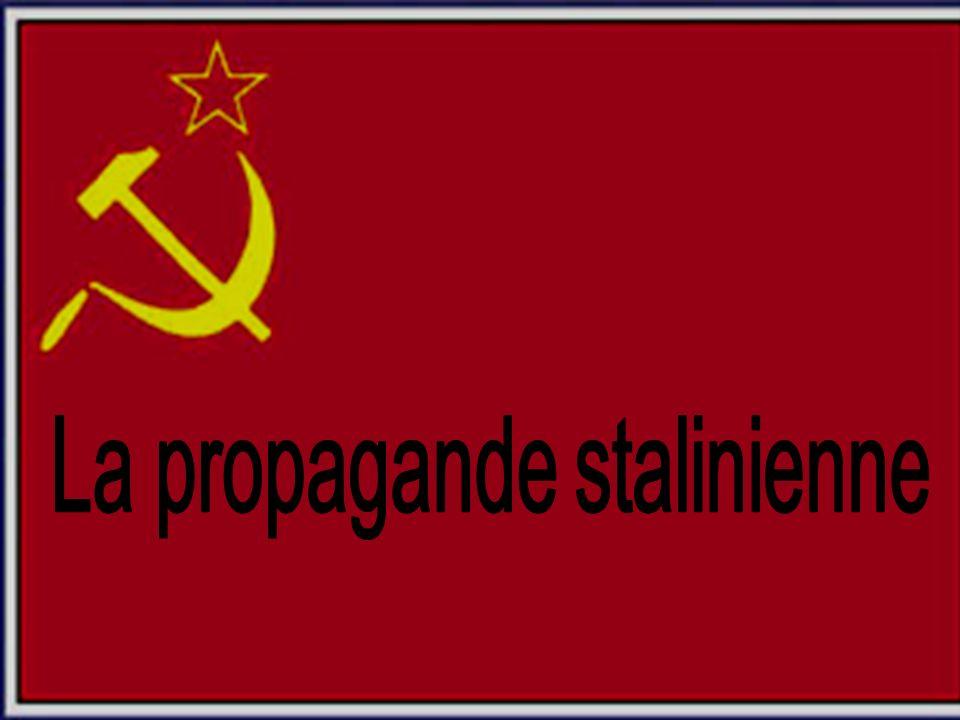 La propagande stalinienne