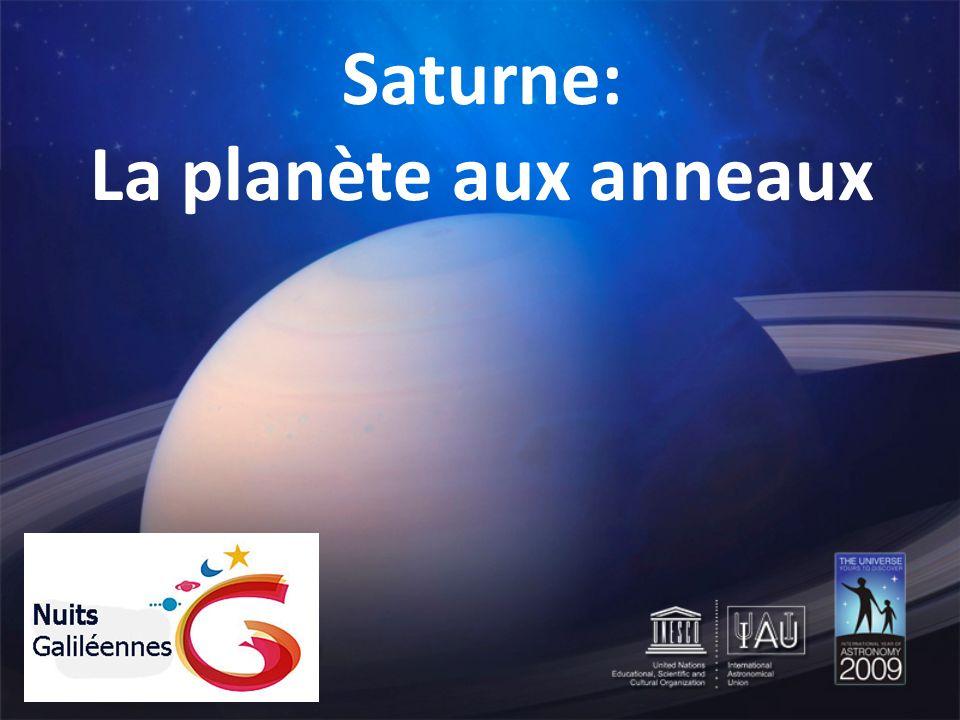 Saturne: La planète aux anneaux