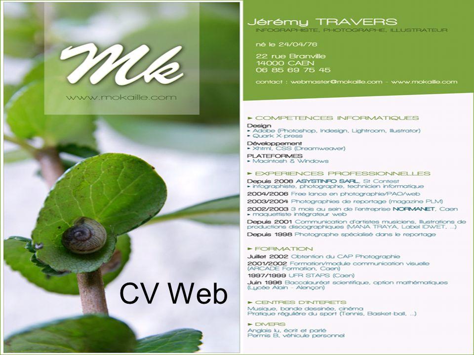 CV Web