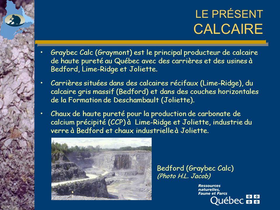 LE PRÉSENT CALCAIRE Bedford (Graybec Calc) (Photo H.L.