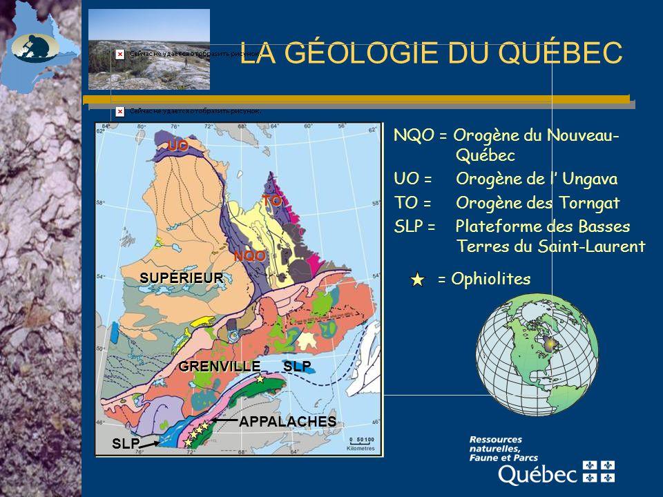Le Québec est le premier producteur mondial dilménite provenant de roches consolidées (et des autres sources).