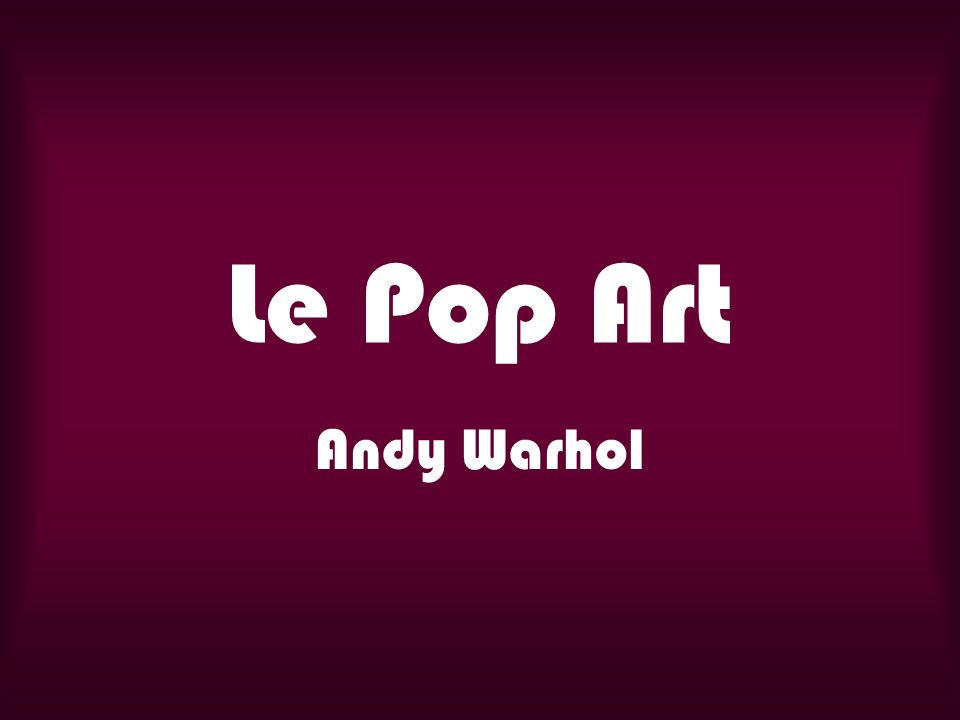 4 pandas par Andy Warhol