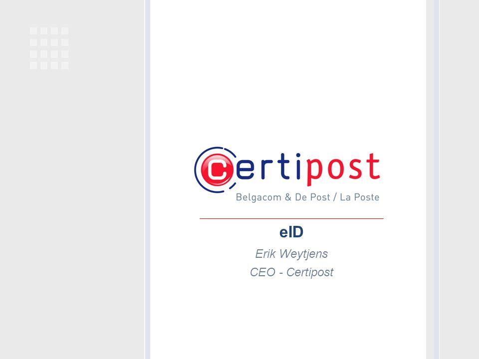eID Erik Weytjens CEO - Certipost