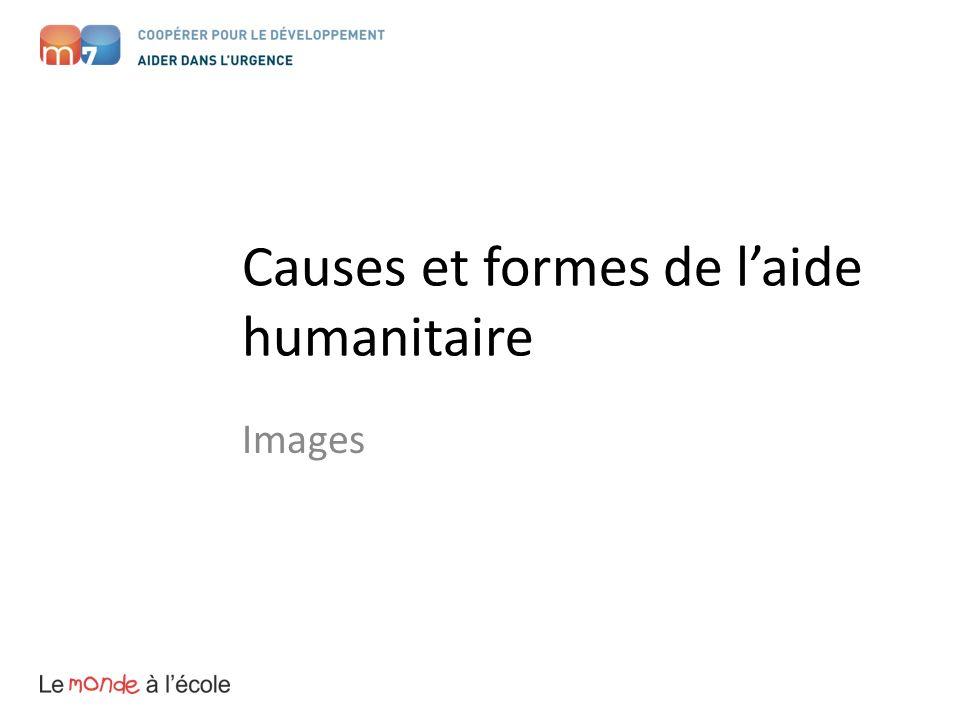 Causes et formes de laide humanitaire Images