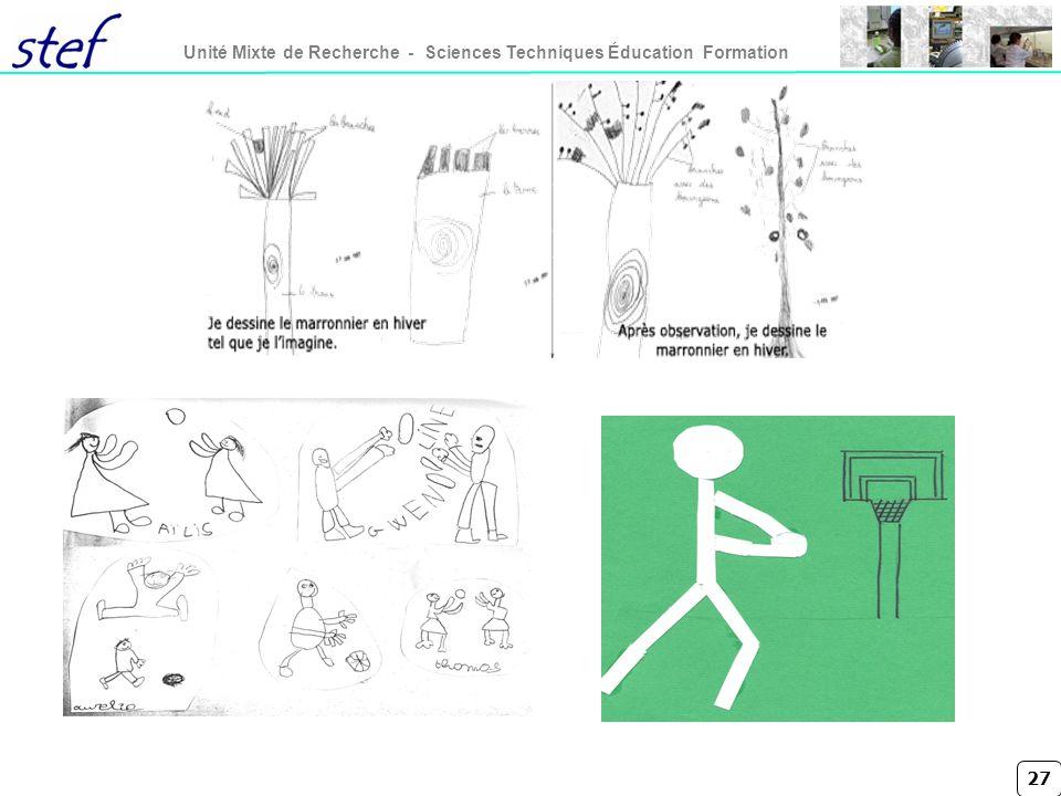 27 Unité Mixte de Recherche - Sciences Techniques Éducation Formation