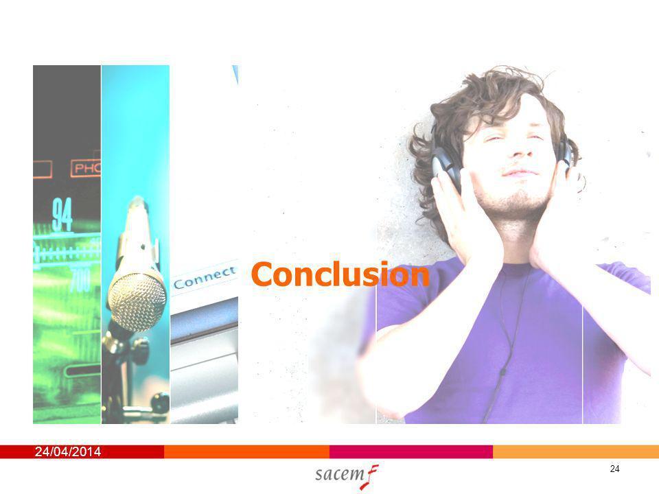 24/04/2014 24 Conclusion