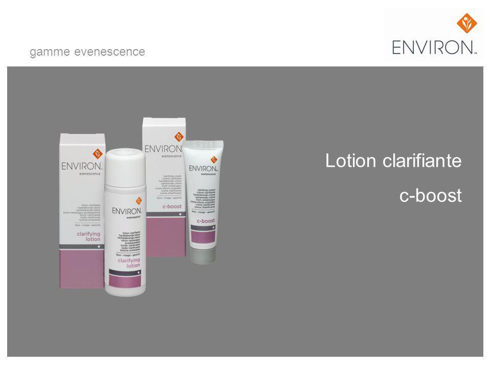 Lotion clarifiante c-boost gamme evenescence