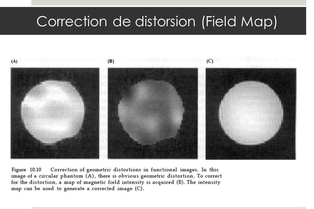 Correction de distorsion (Field Map)