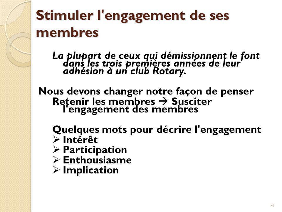 32 Engagement Mentorat - Associer les nouveaux membres avec des membres expérimentés.