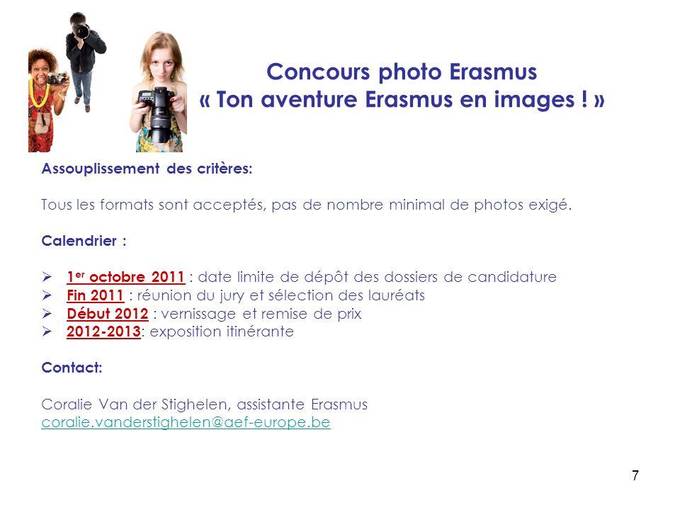 7 Concours photo Erasmus « Ton aventure Erasmus en images .