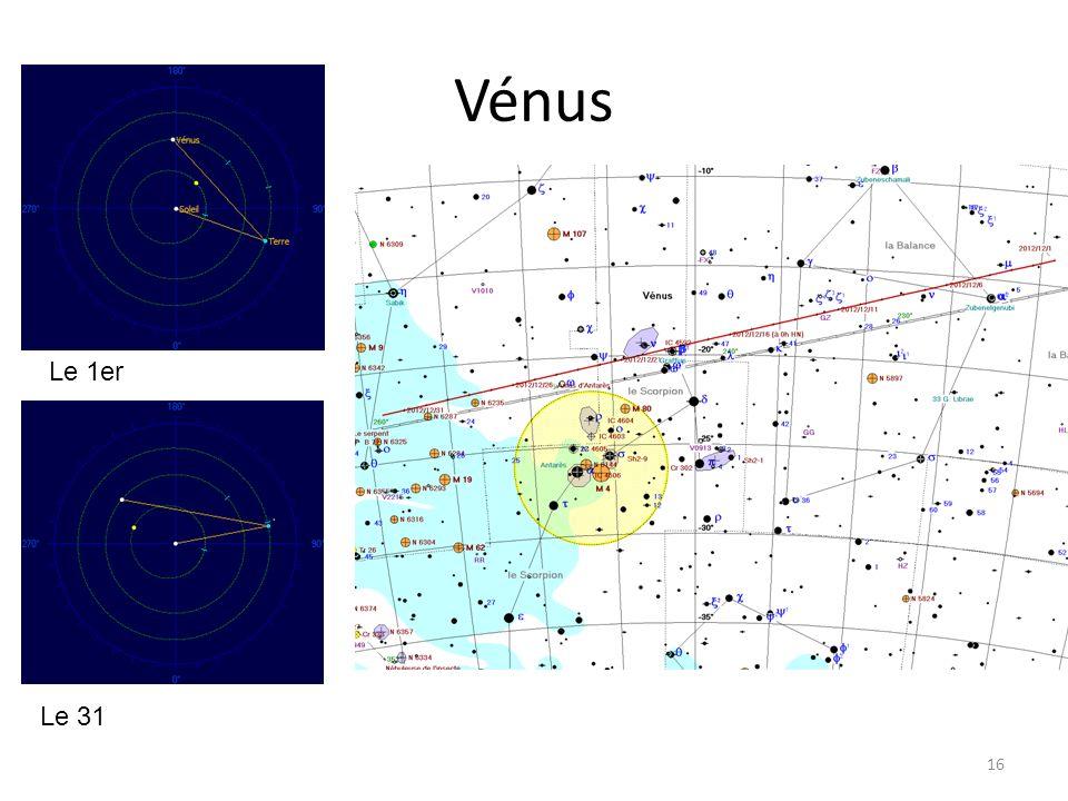 Vénus 16 Le 1er Le 31
