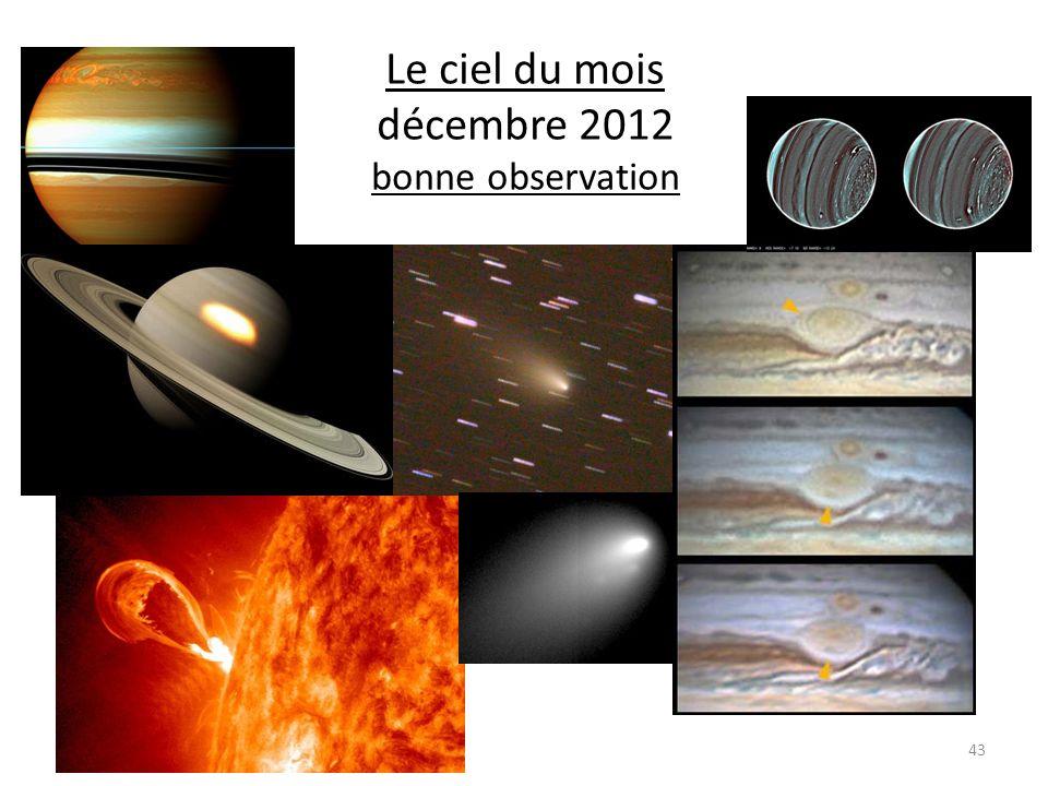 Le ciel du mois décembre 2012 bonne observation 43