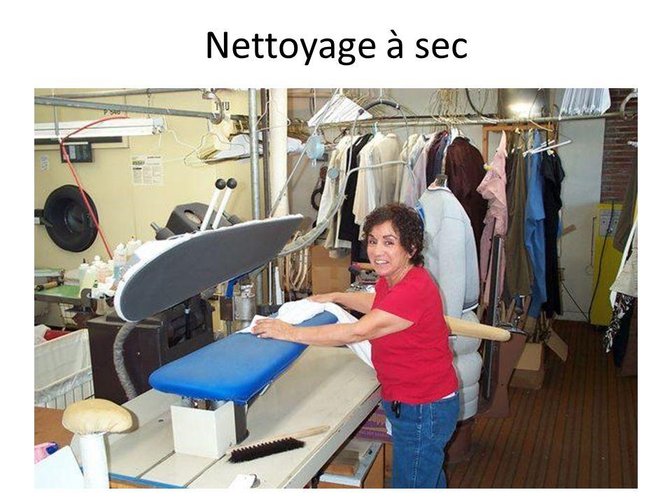 Nettoyage à sec