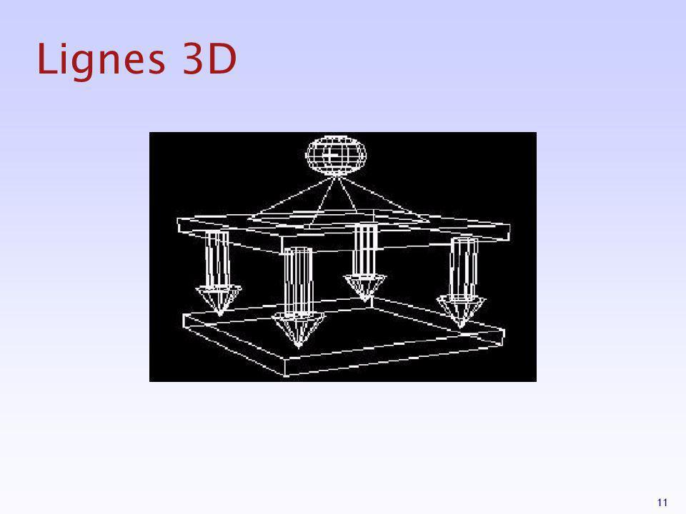 11 Lignes 3D