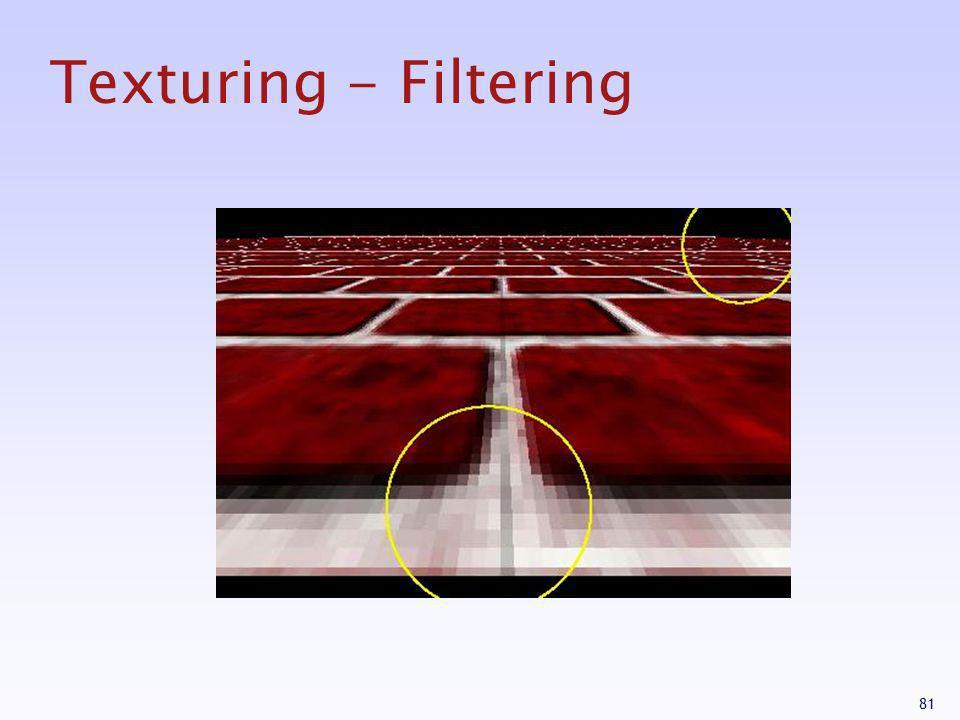 81 Texturing - Filtering