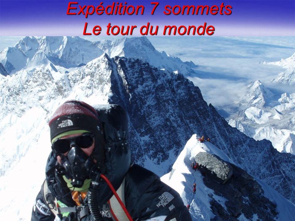 Expédition 7 sommets Le tour du monde