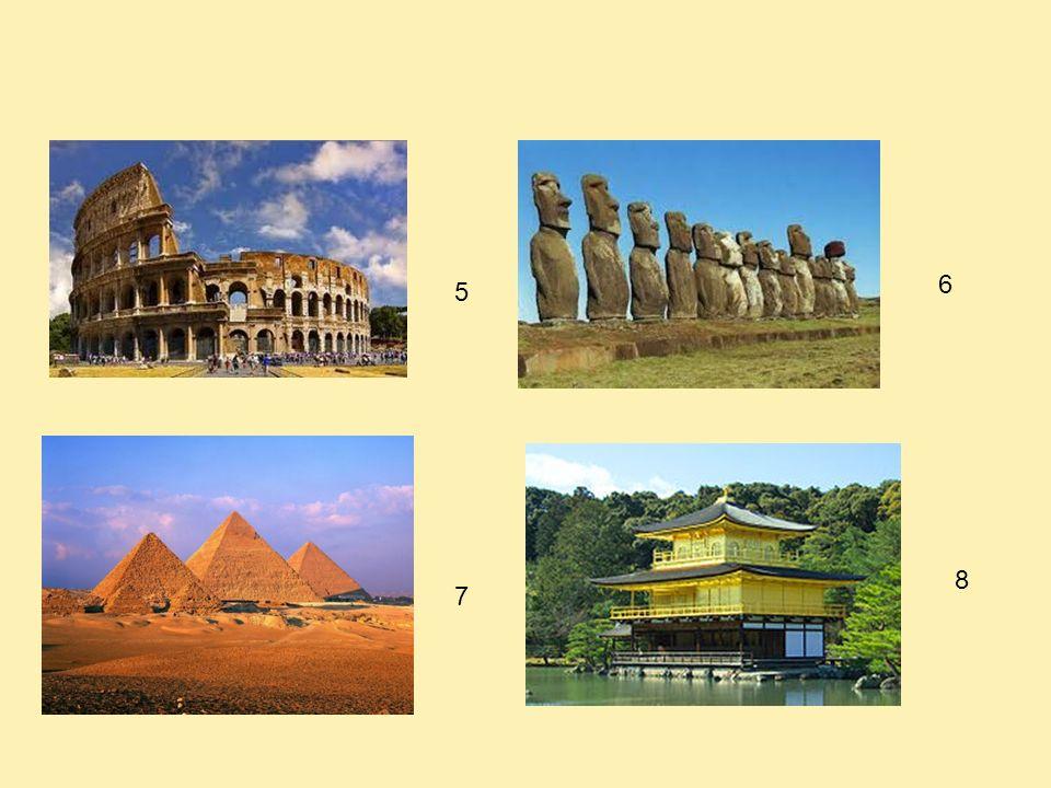 Activité 3 : Pourriez-vous associer la photo des monuments avec leur nom et le pays où ils se situent .