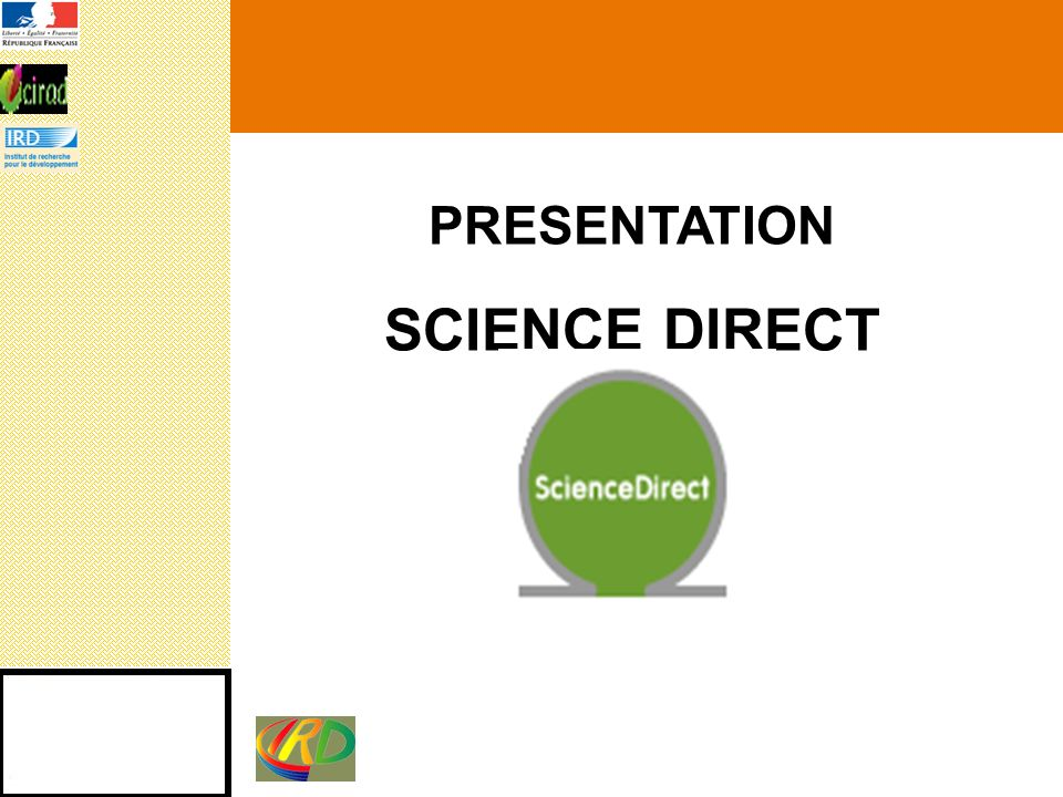 PRESENTATION SCIENCE DIRECT
