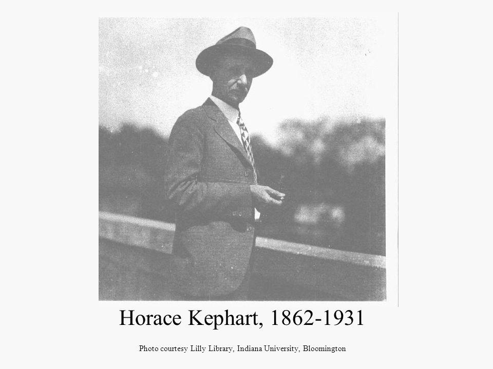 Kephart in his mountain home Photo courtesy Hunter Library, Western Carolina University, Cullowhee